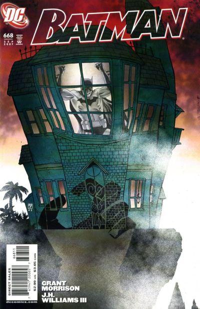 Cover for Batman (DC, 1940 series) #668