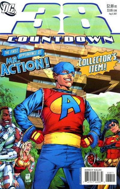 Cover for Countdown (DC, 2007 series) #38