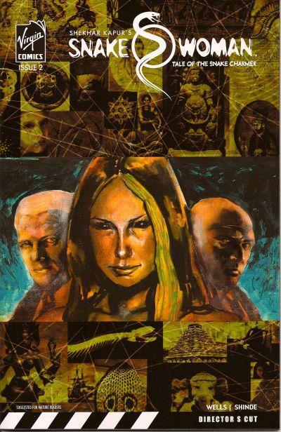 Cover for Snake Woman: Tale of the Snake Charmer (Virgin, 2007 series) #2