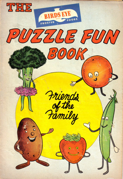 Cover for The Birds Eye Puzzle Fun Book (Marvel, 1961 series)