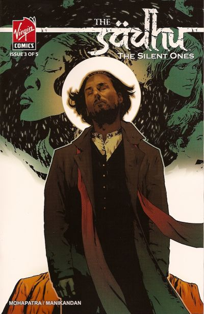 Cover for The Sadhu: The Silent Ones (Virgin, 2007 series) #3
