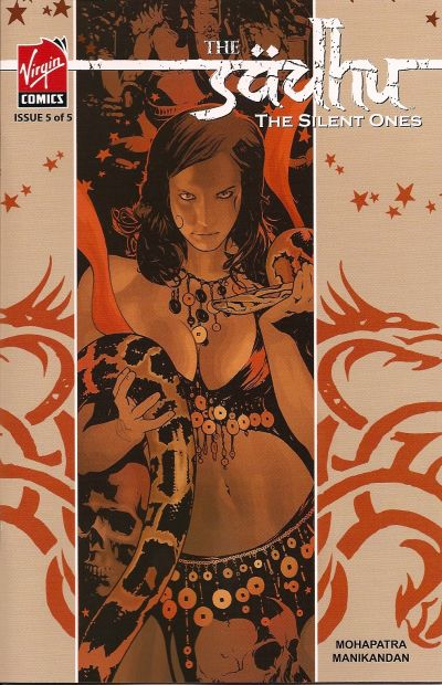 Cover for The Sadhu: The Silent Ones (Virgin, 2007 series) #5