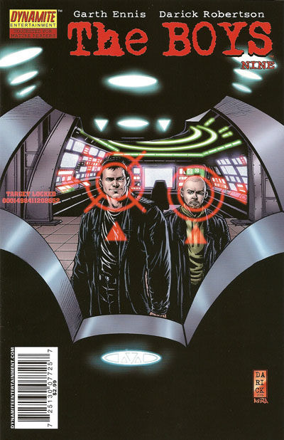 Cover for The Boys (Dynamite Entertainment, 2007 series) #9