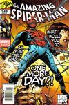 Cover Thumbnail for The Amazing Spider-Man (1999 series) #544 [Newsstand - Joe Quesada Cover]
