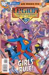 Cover for The Legion of Super-Heroes in the 31st Century (DC, 2007 series) #7 [Direct Sales]