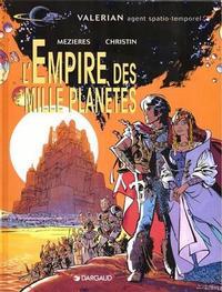 Cover Thumbnail for Valérian (Dargaud, 1970 series) #[2] - L'empire des mille planètes