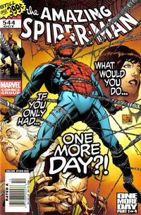 Cover for The Amazing Spider-Man (Marvel, 1999 series) #544 [Direct Edition]