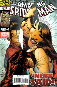 Cover Thumbnail for The Amazing Spider-Man (Marvel, 1999 series) #545 [Direct Edition - Joe Quesada Cover]