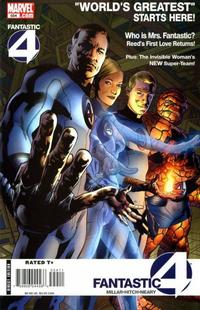 Cover Thumbnail for Fantastic Four (Marvel, 1998 series) #554 [Direct Edition]