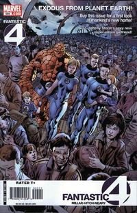 Cover Thumbnail for Fantastic Four (Marvel, 1998 series) #555 [Direct Edition]
