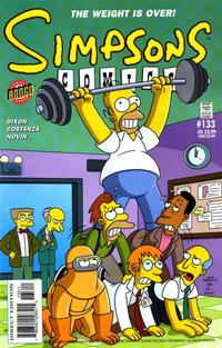 Cover Thumbnail for Simpsons Comics (Bongo, 1993 series) #133