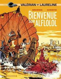 Cover Thumbnail for Valérian (Dargaud, 1970 series) #4 - Bienvenue sur Alflolol