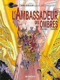 Cover Thumbnail for Valérian (Dargaud, 1970 series) #6 - L'ambassadeur des ombres