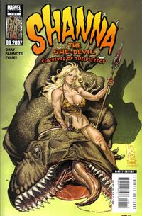 Cover Thumbnail for Shanna the She-Devil: Survival of the Fittest (Marvel, 2007 series) #1