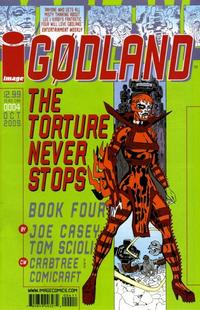 Cover Thumbnail for Godland (Image, 2005 series) #4