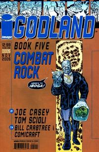 Cover Thumbnail for Godland (Image, 2005 series) #5