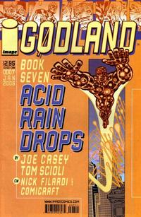 Cover Thumbnail for Godland (Image, 2005 series) #7