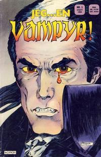Cover Thumbnail for Jeg...en vampyr (Semic, 1984 series) #1