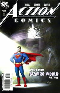 Cover Thumbnail for Action Comics (DC, 1938 series) #855