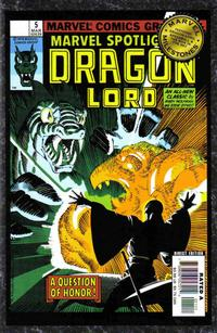 Cover Thumbnail for Marvel Milestones: Dragon Lord, Speedball & The Man in the Sky (Marvel, 2006 series)