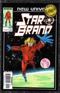 Cover Thumbnail for Marvel Milestones: Star Brand & Quasar (Marvel, 2006 series)