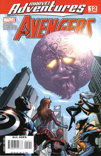 Cover for Marvel Adventures The Avengers (Marvel, 2006 series) #12