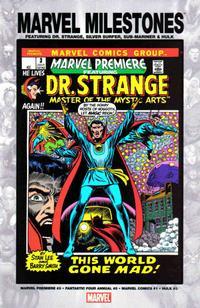 Cover Thumbnail for Marvel Milestones: Dr. Strange, Silver Surfer, Sub-Mariner & Hulk (Marvel, 2005 series)