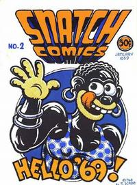 Cover Thumbnail for Snatch Comics (Apex Novelties, 1968 series) #2