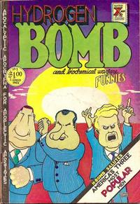 Cover Thumbnail for Hydrogen Bomb Funnies (Rip Off Press, 1970 series) #1