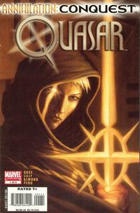 Cover Thumbnail for Annihilation: Conquest - Quasar (Marvel, 2007 series) #1