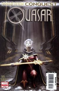 Cover Thumbnail for Annihilation: Conquest - Quasar (Marvel, 2007 series) #3