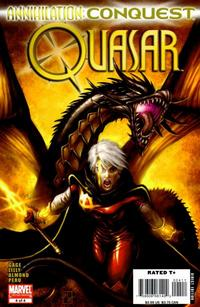 Cover Thumbnail for Annihilation: Conquest - Quasar (Marvel, 2007 series) #4