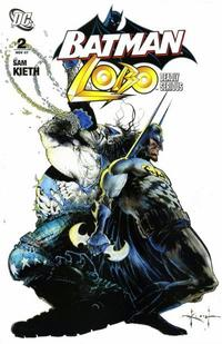 Cover Thumbnail for Batman / Lobo: Deadly Serious (DC, 2007 series) #2