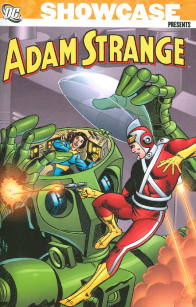 Cover for Showcase Presents: Adam Strange (DC, 2007 series) #1