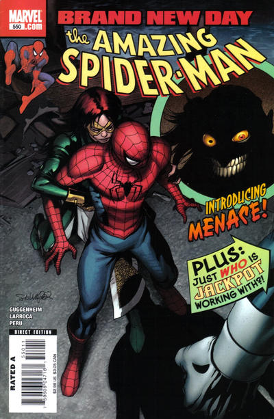 Cover for The Amazing Spider-Man (Marvel, 1999 series) #550