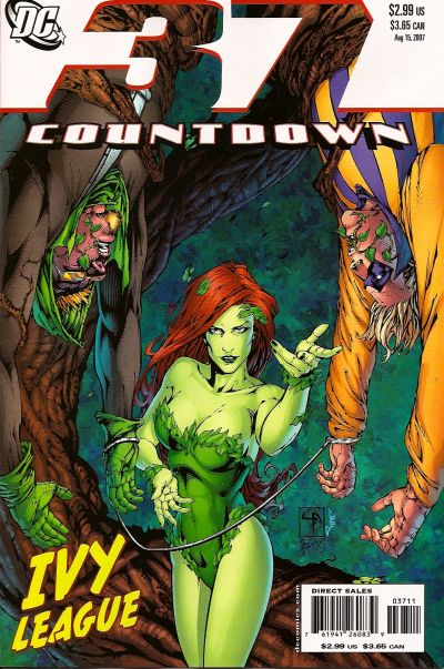 Cover for Countdown (DC, 2007 series) #37
