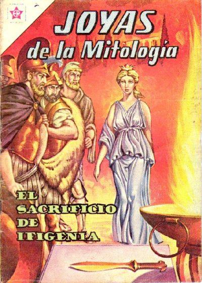 Cover for Joyas de la Mitología (Editorial Novaro, 1962 series) #2