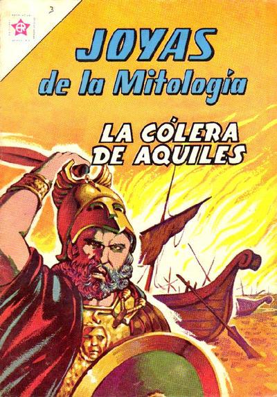 Cover for Joyas de la Mitología (Editorial Novaro, 1962 series) #3