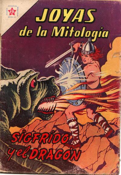 Cover for Joyas de la Mitología (Editorial Novaro, 1962 series) #8