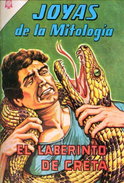 Cover for Joyas de la Mitología (Editorial Novaro, 1962 series) #23