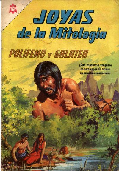 Cover for Joyas de la Mitología (Editorial Novaro, 1962 series) #46