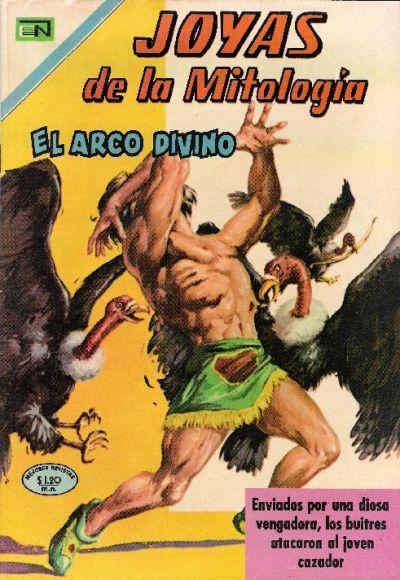 Cover for Joyas de la Mitología (Editorial Novaro, 1962 series) #137