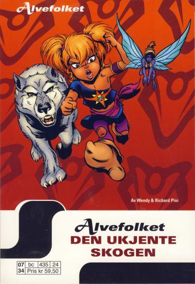 Cover for Alvefolket (Hjemmet / Egmont, 2005 series) #24