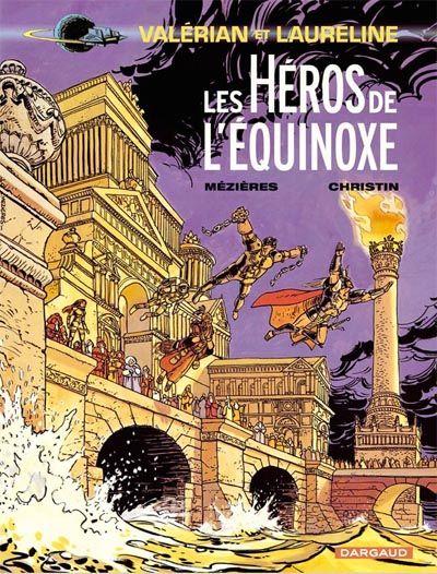 Cover for Valérian (Dargaud, 1970 series) #8 - Les Héros de l'équinoxe