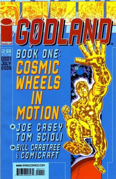 Cover for Godland (Image, 2005 series) #1