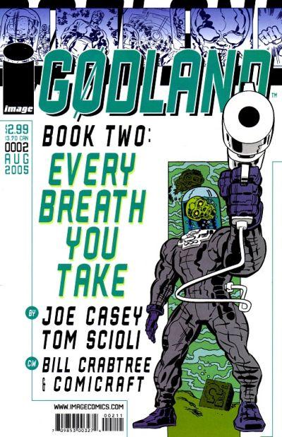 Cover for Godland (Image, 2005 series) #2