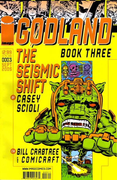 Cover for Godland (Image, 2005 series) #3