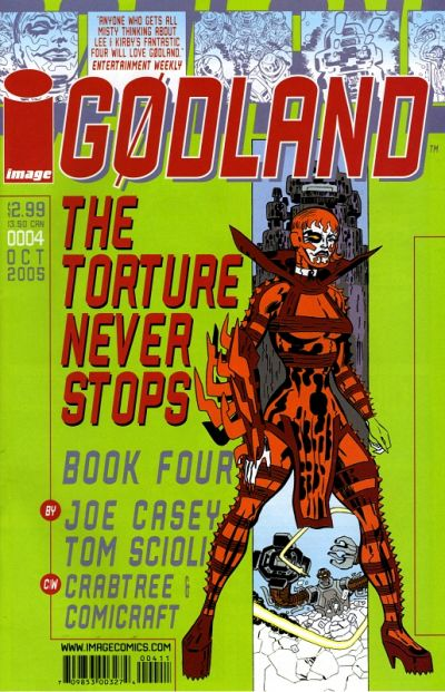 Cover for Godland (Image, 2005 series) #4