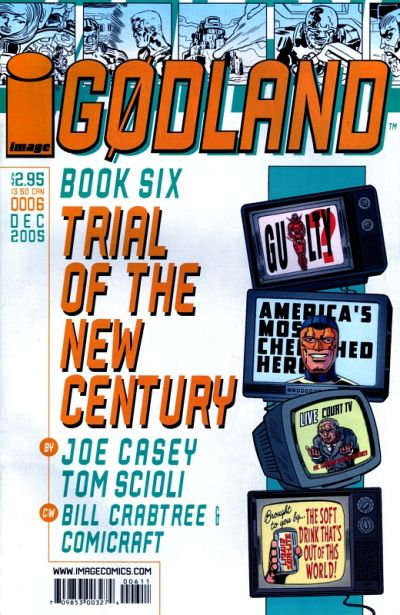 Cover for Godland (Image, 2005 series) #6