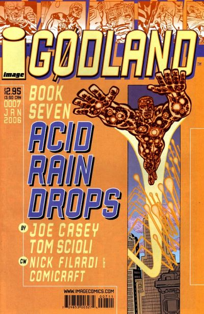 Cover for Godland (Image, 2005 series) #7